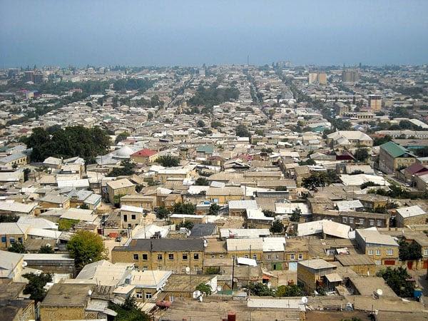 Вид на 5000-летний город Дербент, Дагестан / Фото из России