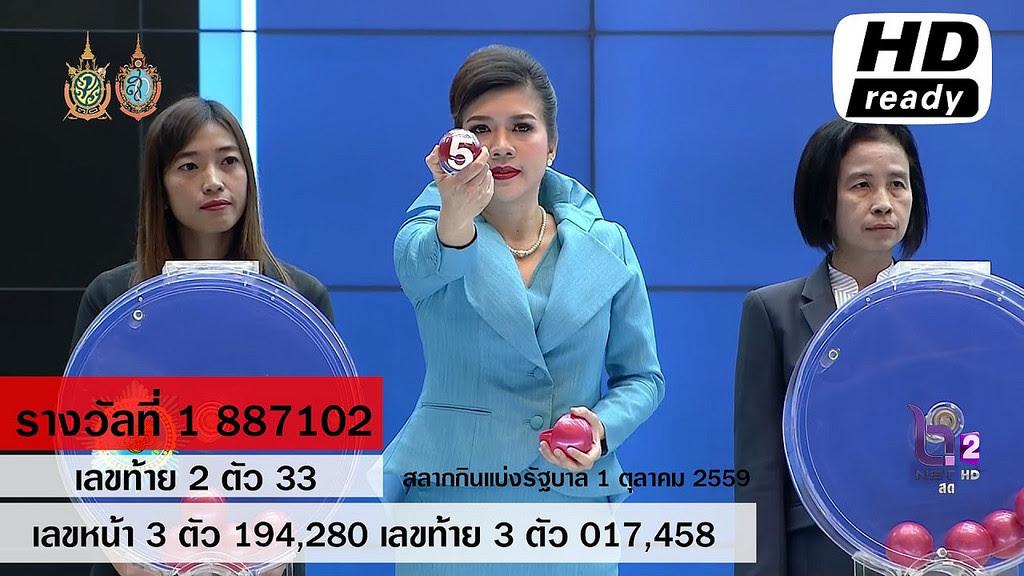 Liked on YouTube: ผลสลากกินแบ่งรัฐบาล ตรวจหวย 1 ตุลาคม 2559 Lotterythai HD youtu.be/51KeIduthu0