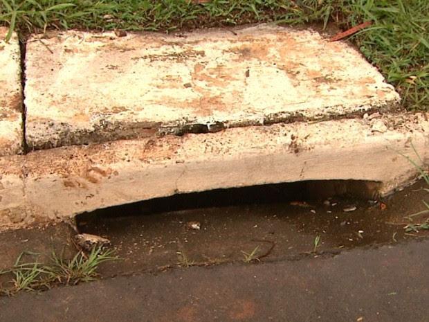 Estudante da USP foi encontrado dentro de bueiro, em Ribeirão Preto, SP (Foto: Reprodução/EPTV)
