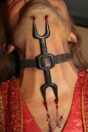 Museum of Medieval Torture Instruments: An heretic's fork