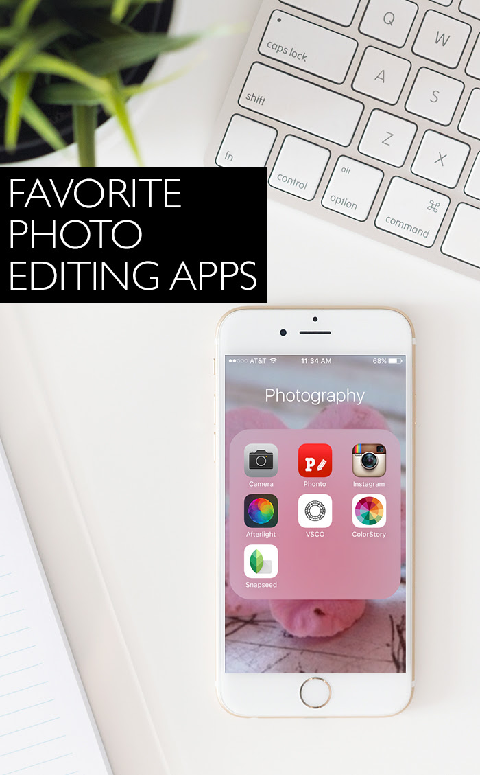 Favorite Photo Editing Apps
