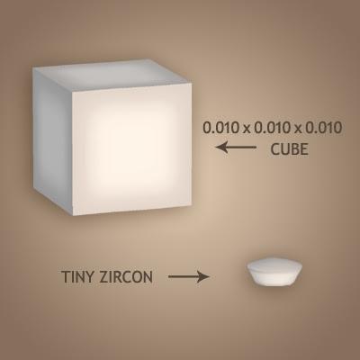 36 Tiny zircon