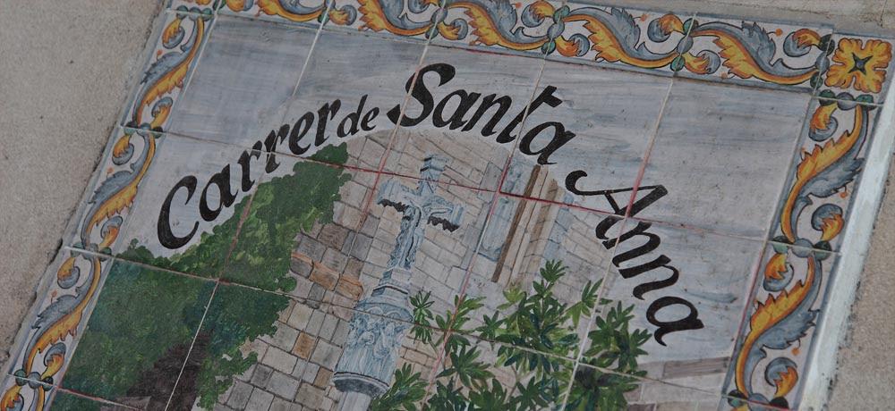 Resultado de imagen de calle santa anna barcelona
