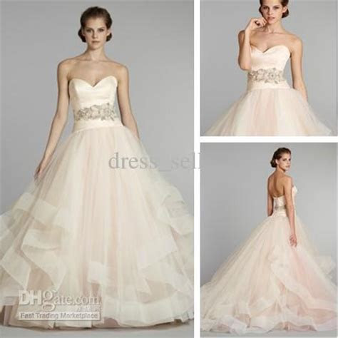 New Charming Bridalgown Wedding Dresses Tulle Ball Gown