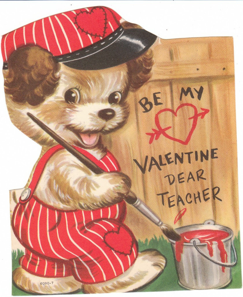 Vintage Dog Pictures for Valentines Day