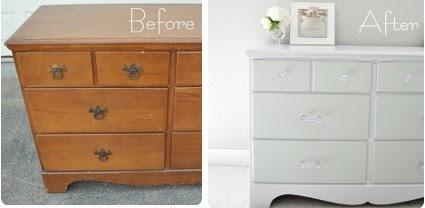 El blog de anita diy pintar los muebles de casa for Renovar muebles antiguos
