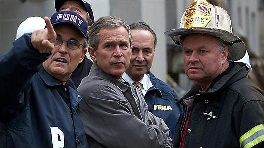 how a real man deals with 9/11