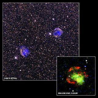 Tescopios de rayos x hallan indicios de nueva clase de supernova