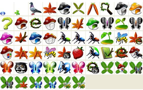 550 Gambar Kartun Hewan Dan Tumbuhan Gratis