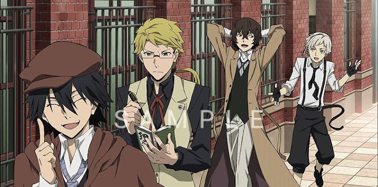 Ranpo Edogawa Bungou Stray Dogs Official Art