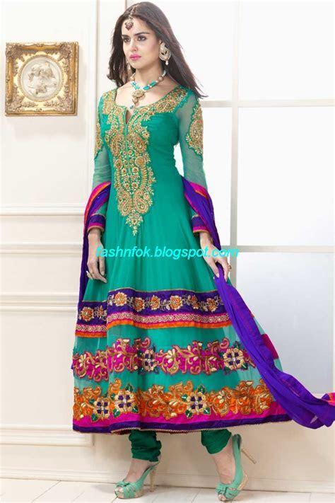 Indian Anarkali Umbrella Wedding Brides Bridal Party Wear