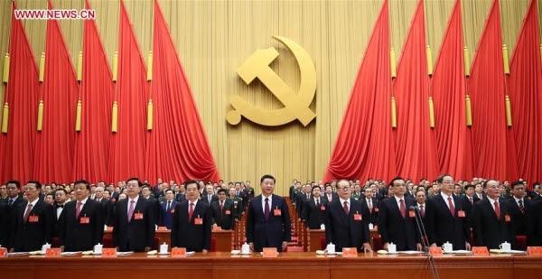 Đại hội 19 Đảng Cộng sản TQ,Tập Cận Bình,Thường vụ Bộ Chính trị TQ,Đả hổ diệt ruồi,Đặng Tiểu Bình