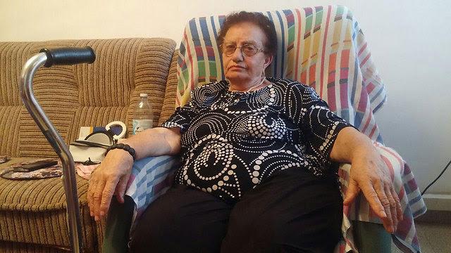 Holocaust survivor Lea Karsik (Phot: Barel Ephraim)