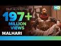 Malhari Lyrics from Bajirao Mastani