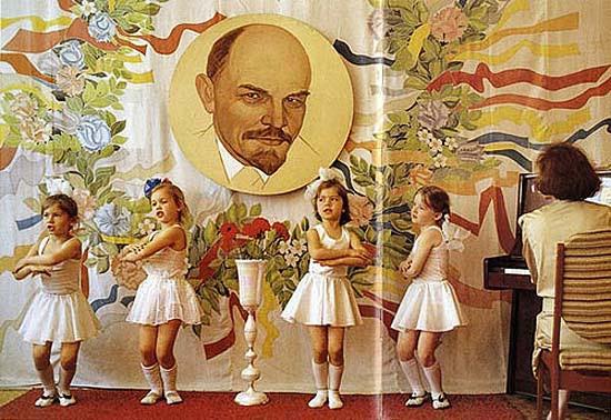Lenin és a balerinák
