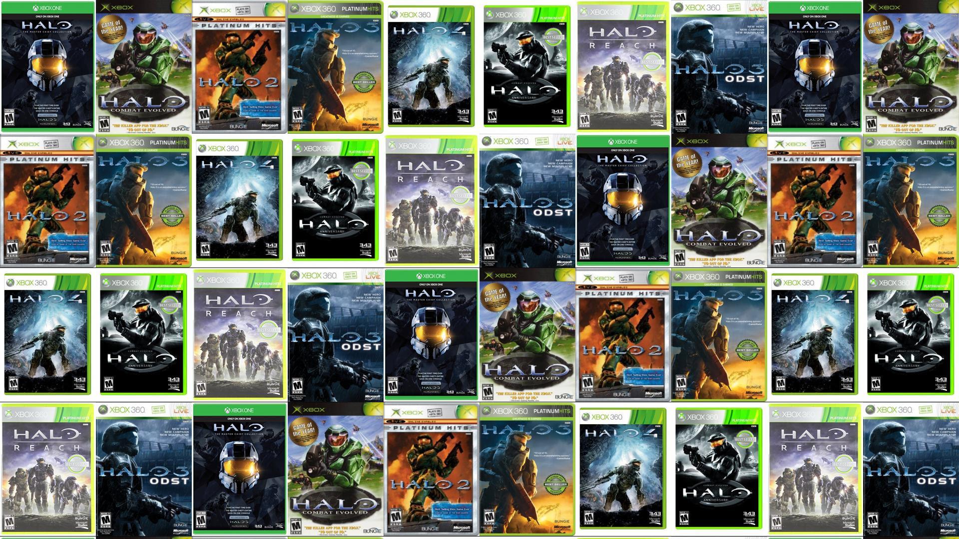Halo 2 Tiled Desktop Wallpaper