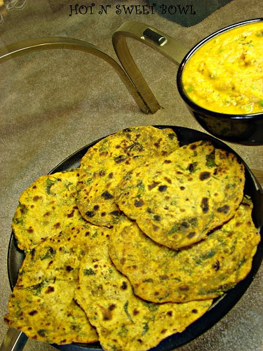 Mustard Green Rotis