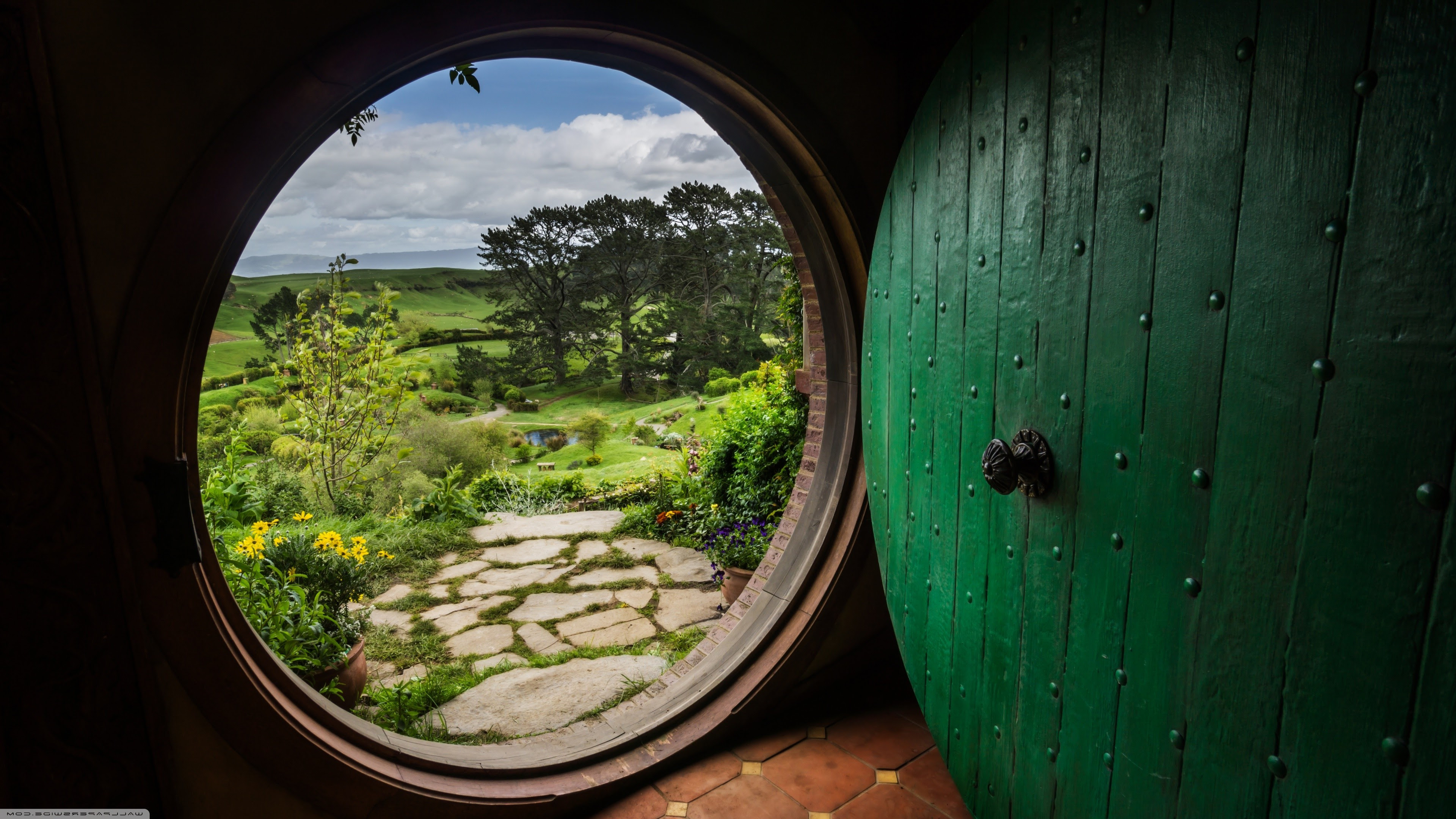 The Hobbit Bag End The Shire The Lord Of The Rings Bilbo