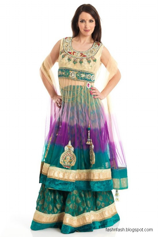 Anarkali-Frocks-in-Double-Shirts-Style-Double-Shirt-Dresses-2012-2013-3