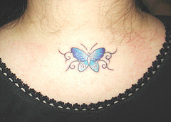 Small Blue Butterfly Tattoo Tattoo Designs Tattoo Pictures