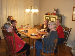Quilter's Christmas Party 2010 002