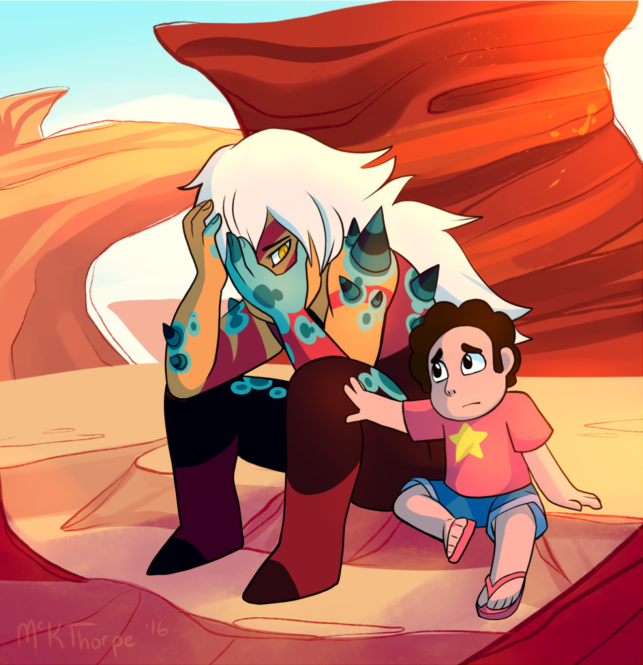 "When Steven said ""Jasper, it's okay, I'm here,"" it pretty much messed me up for life. I wish she had listened to him."