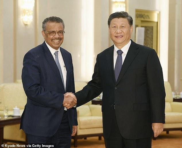 CIA 'acredita que a China pressionou a OMS a minimizar publicamente o risco de coronavírus em janeiro, enquanto Pequim acumulava suprimentos médicos'