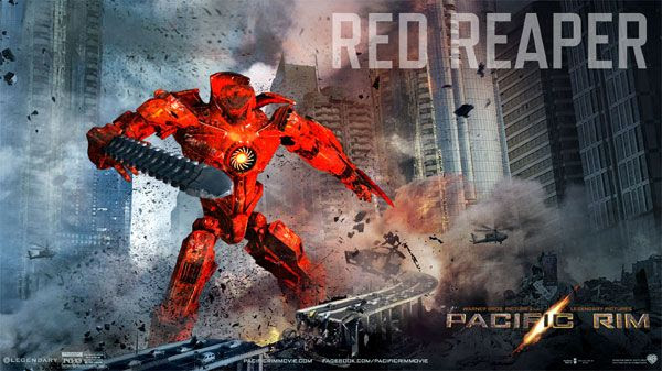 My own PACIFIC RIM Jaeger...known as the Red Reaper.