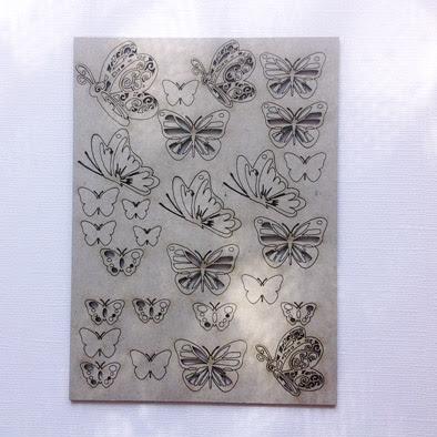 Lots of butterflies  100 x 150 mm Min purchase of 3