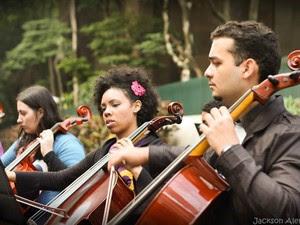 Orquestra na Rua abre o festival no dia 13. (Foto: Divulgação)