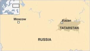 Tatarstan mapa