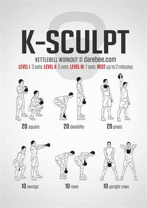 darebee  twitter  sculpt kettlebell workout http