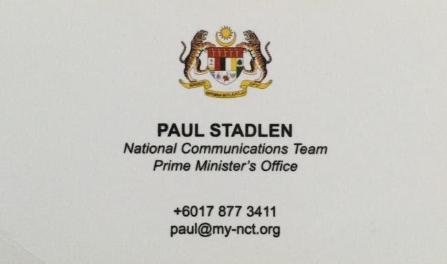 Image result for paul stadlen SARAWAK report