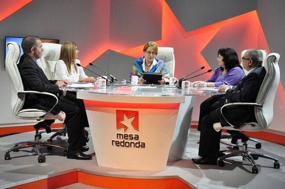 El presupuesto del estado cubano fue el tema de análisis en la Mesa Redonda de este jueves. Foto: Roberto Garaicoa/ Cubadebate.