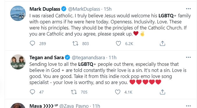 LGBTQ community react to Vatican new