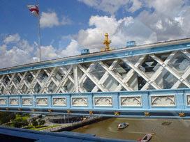 Tower Bridge walkway