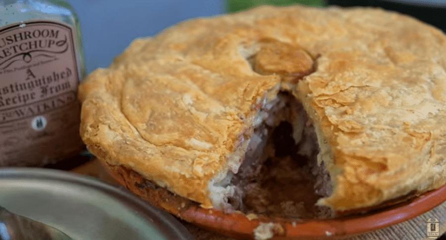 Dutch Oven Cooking: Savory Beef Steak Pie