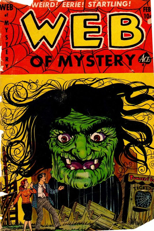 ace comics web of mystery 17