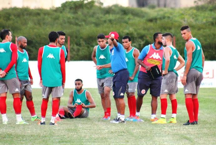América-RN treina CT Abílio Medeiros, em Parnamirim (Foto: Canindé Pereira/Divulgação)