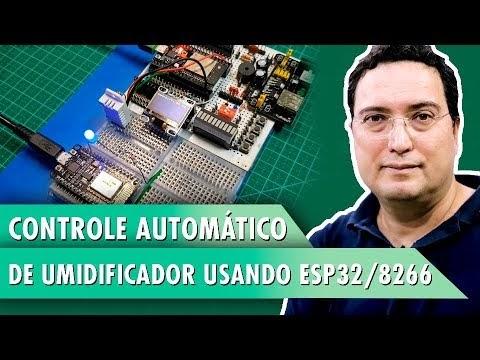 Controle Automático de Umidificador usando ESP32/8266