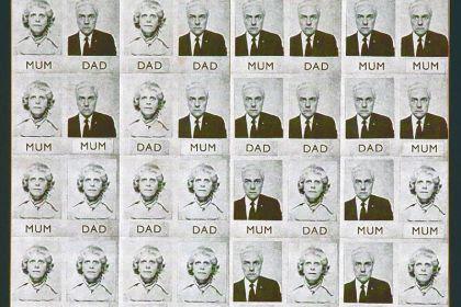 """Genesis P-Orridge's """"Mum & Dad"""" from 1971."""