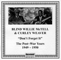 Blind Wille McTell & Curley Weaver