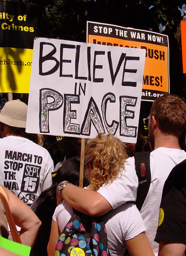 018 believe in peace, copy