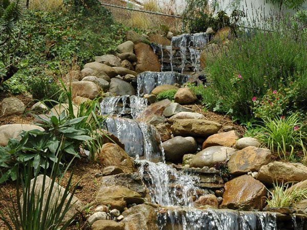 Waterfalls ideas for the backyard