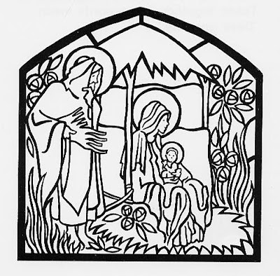Template With Nativity Scene  New Calendar Template Site
