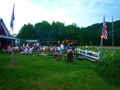 summer dining, American Flatbread