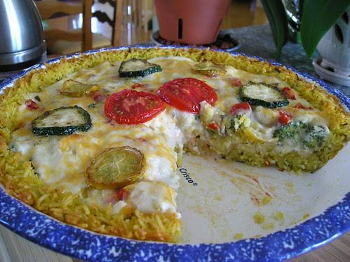Tarte aux Légumes (touski)