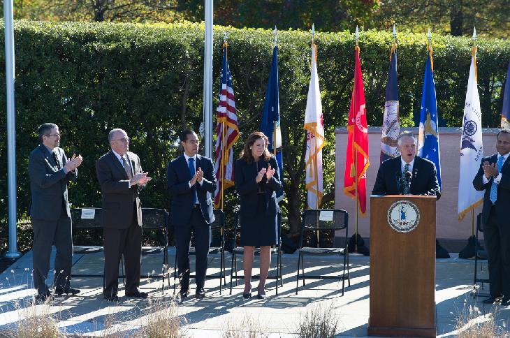 Virginia_s Veterans Day ceremony