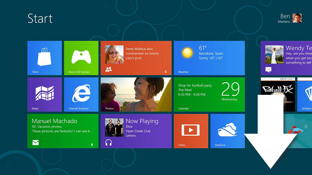 Click here to read Download the Windows 8 Release Preview Now