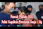 VIDEO; Terungkap, Polisi Gagalkan Peredaran Ganja 1 Kg saat Pilkada Serentak Berlangsung